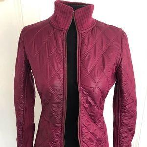 Prana Diva Sherpa bomber jacket raspberry size xs